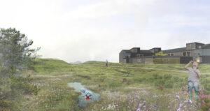 Visualisering túnhús og grønur geiri web
